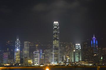 Hongkong - night cityscape