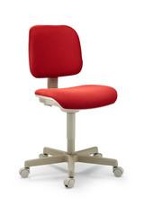 chaise rouge de bureau