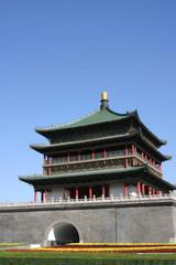 Keuken foto achterwand Xian The Bell Tower, Xian City - China