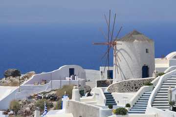 Windmill of Santorini