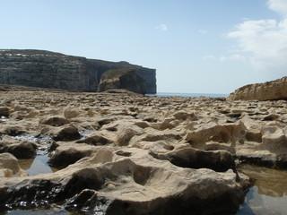 Steinküste auf Malta