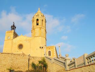 Sant Bartomeu in Sitges, Spain.
