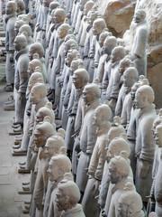 Tuinposter Xian Terracotta Warriors in Xian, China.