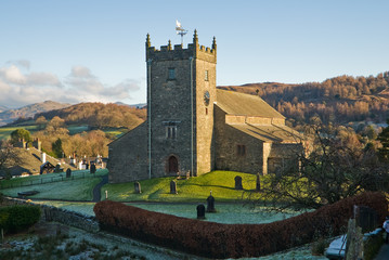 St Michael & All Angels Church in Hawkshead