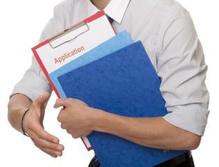 Bewerbungsunterlagen Arbeitssuche