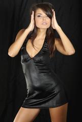 portrait of bueautiful sexy woman