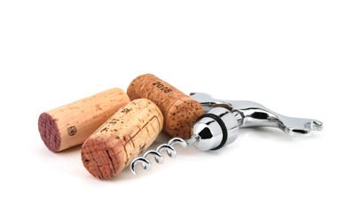 Corks and corkscrew