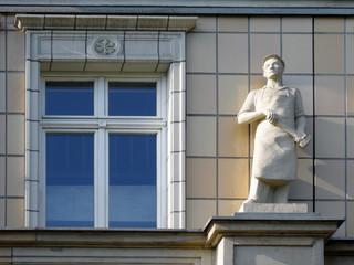 Stalinbau in Berlin-Friedrichshain