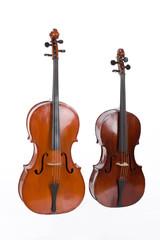 Two violoncellos