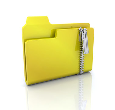 Zipped folder icon