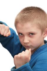 Boxing boy.