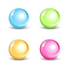 Icônes colorés