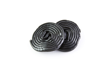 Spirals from licorice