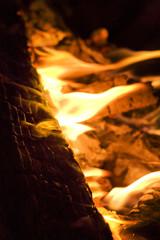 Feuer vom Winde verweht