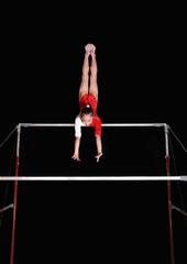 Fotobehang Gymnastiek uneven bars