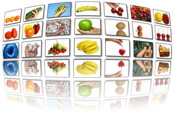 Food theme screens