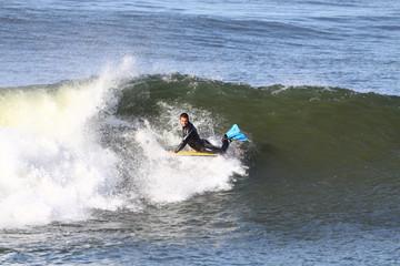 Garden Poster Water Motor sports bodyboard en action