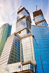 High skyscrapers