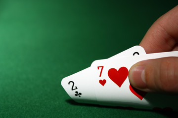 poker, 2 7 suited