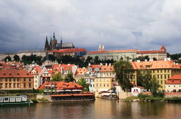 the panorama of Prague
