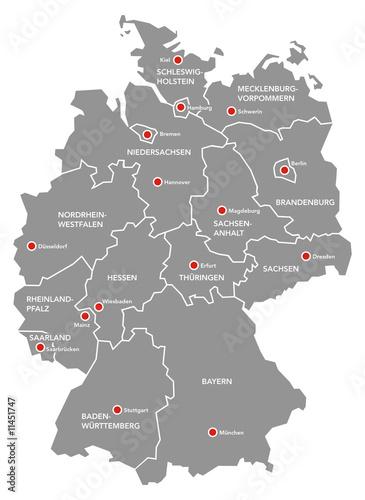 Deutschlandkarte Stock Photo And Royalty Free Images On Fotolia