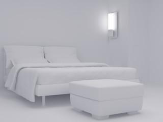 White bedroom set eight