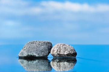 Two stones input