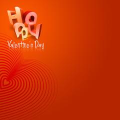 Happy Valentine's Day Illustrated Types IV