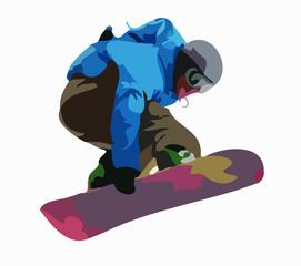 saut snowboard