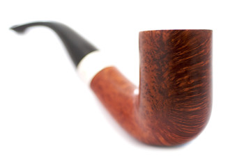 Smoking Pipe on white