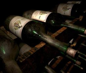 old wine storage