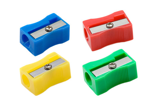 Photo of four pencil-sharpener