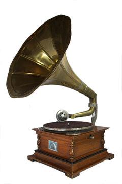 Grammophon freigestellt