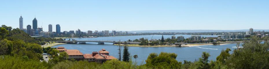 Panorama von Perth, Westaustralien