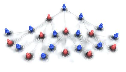 Equipe, hiérarchie en réseau