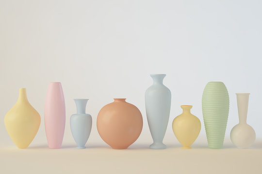 Ceramic in a row