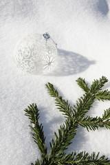 Decoration Noel Neige