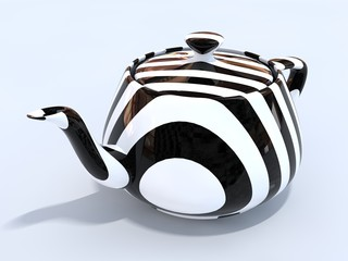 3d Isolated Teapot