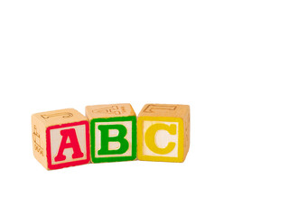 ABC Blocks in a Line