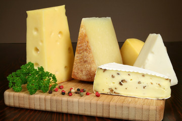Cheese serving