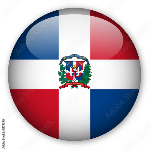 Quot Dominican Republic Flag Button Quot Stock Photo And Royalty