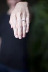 showing diamond ring