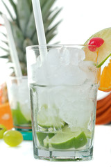 Sommerfrische Drinks