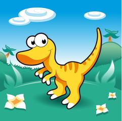 Photo sur Plexiglas Dinosaurs Baby Dinosaurs