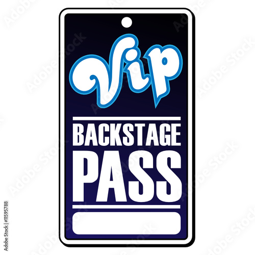 VIP Backstage Pass  Free Vip Pass Template