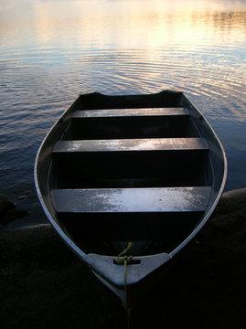Adirondack rowboat