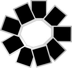 blank  frame photo 2