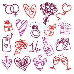 Valentine's set