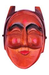 korean traditional female mask