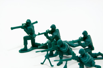 Attack Concept - Plastic Soldiers